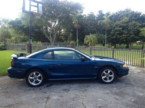 1998 mustang gt 4 6 buy used 1998 ford mustang gt coupe 2 door 4 6l in