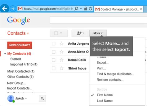 format csv import contact gmail techspace knowledgebase export google gmail contacts