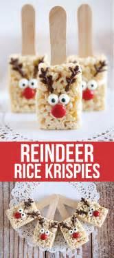 Handmade Treats Uk - reindeer rice krispies