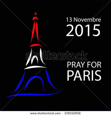 cara edit foto pray for paris pray for paris the eiffel tower with three colors of the