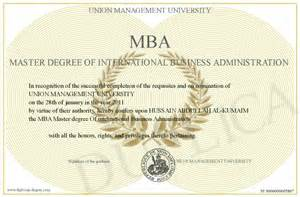 Mba Administration Degree by International Business International Business