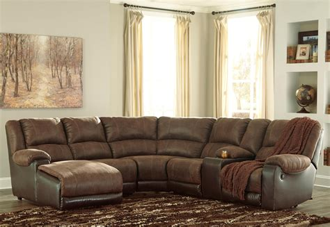 ashley furniture leather sectional with chaise signature design by ashley nantahala faux leather