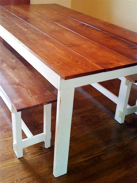 table white legs wooden top