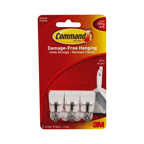 3m Command Hook Utensil Bunnings Warehouse Ceiling Command Hooks