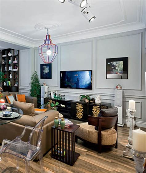 modern chic decor modern interior design in eclectic style with parisian chic