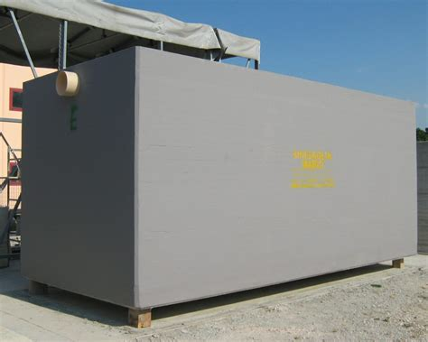 vasche acqua vasche prefabbricate in cemento armato c a ms sinigaglia