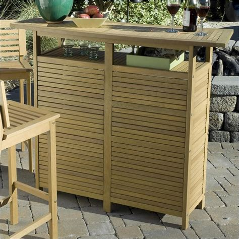Outdoor Bar Cabinet Home Styles Bali Hai Cabinet Outdoor Bar Ebay