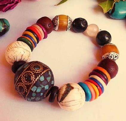Handmade Wristbands - handmade jewelry indusladies