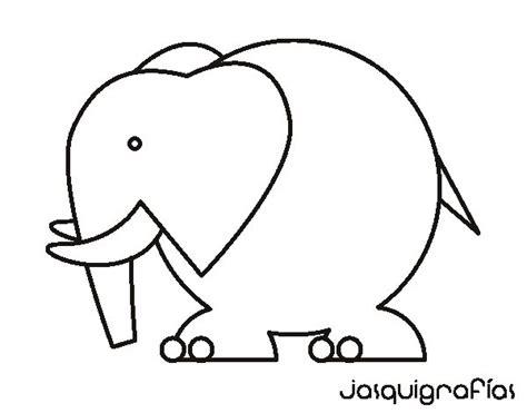 imagenes para dibujar grandes dibujo de elefante grande para colorear dibujos net