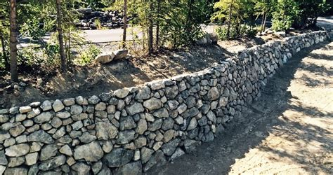 Rock Retaining Wall Retaining Walls By Rock Landscaping Anchorage Alaska