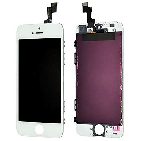Lcd Iphone 5s Malaysia iphone accessories vertical white replacement lcd touch screen display digitizer for apple
