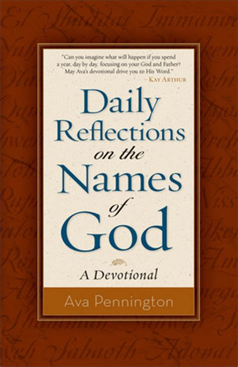reflections for the call a devotional for preachers books knowing god by name christian children s authors