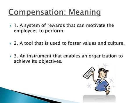 Foster Mba Values by Compensation Management It S Objectives