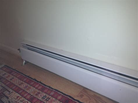 Mid Century Modern Baseboard by Radiator Why Is My Water Baseboard Heater Not