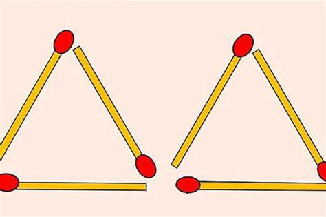 triangle matchstick pattern brain teaser can you solve this tricky matchstick puzzle