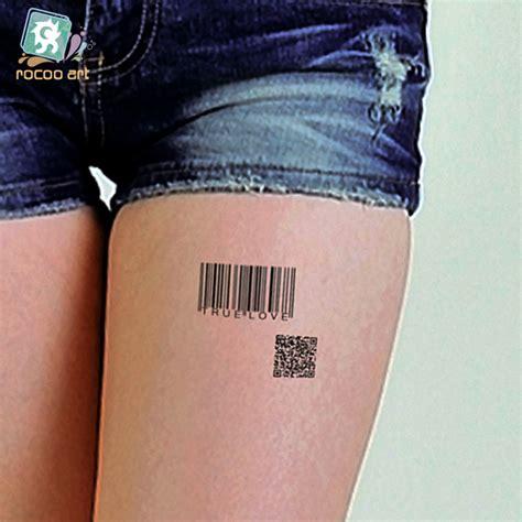 barcode tattoo fake popular fake barcode buy cheap fake barcode lots from
