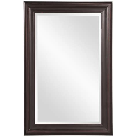 george rubbed bronze rectangular mirror uvhe53047