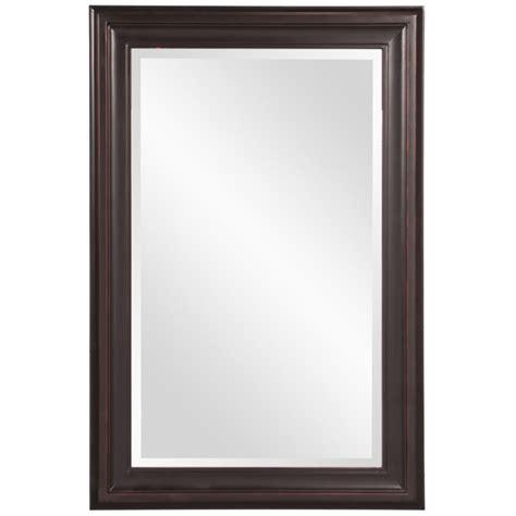 George Oil Rubbed Bronze Rectangular Mirror UVHE53047