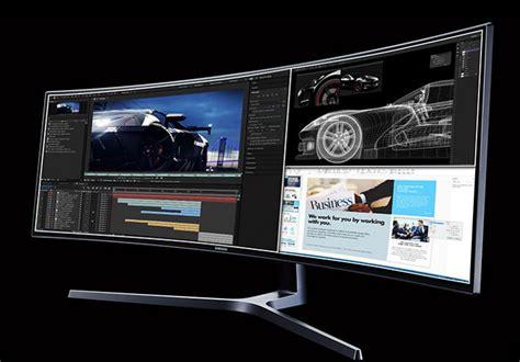 L Samsung Chg90 201 Cran Qled 49 Quot 32 9 Incurv 233 Samsung Chg90 Pour Le Gaming La Mao Usb Hdmi Studio Audiofanzine