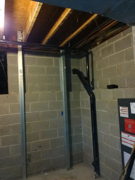 team basement systems quality 1st basement systems foundation repair before