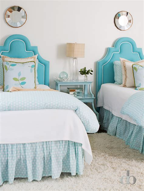 turquoise girls bedroom kids turquoise headboards transitional girl s room