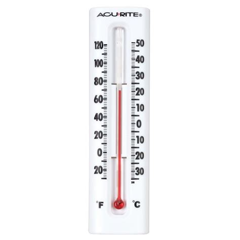 Acurite Indoor Outdoor Digital Thermometer With Humidity Garden Wall Thermometer