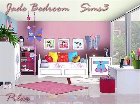 jade bedroom by pilar sims 3 pinterest chang e 3