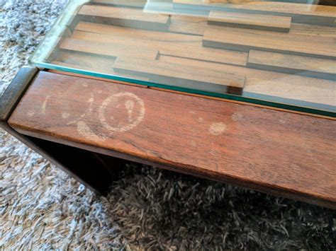 white stain on wood table how to remove water stains from wood furniture cnet