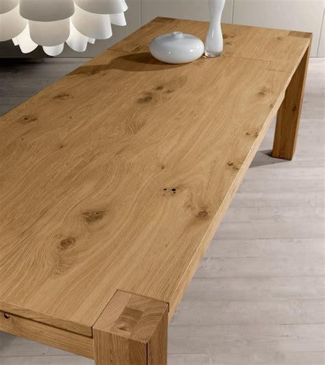 tavolo in rovere tavolo rovere naturale scontato 51 tavoli a
