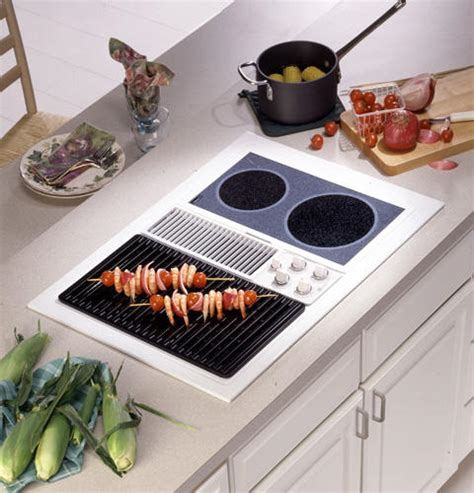 Ge Modular Cooktop Ge Profile Built In Downdraft Gas Modular Cooktop