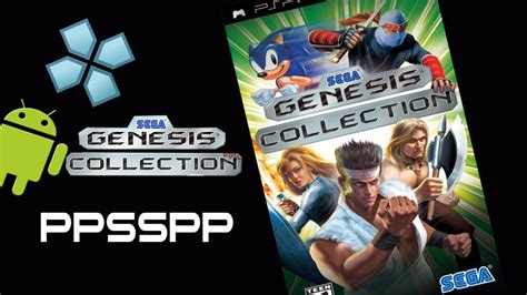 genesis psp ppsspp emulator sega genesis collection psp on android