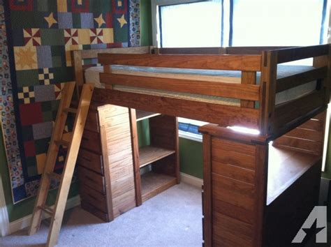 wood bunk bed with desk solid wood bunk bed with desk and chest of drawers for