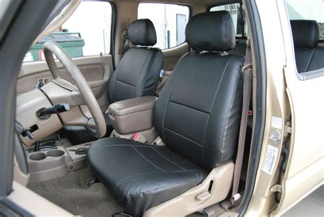 toyota tacoma bench seat covers toyota tacoma 2000 2004 leather like custom seat cover ebay