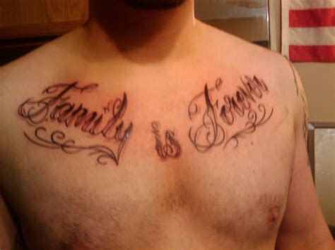 tattoos words for men the word family ideas for www pixshark