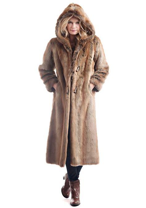 Faux Fur Hooded Coat coyote hooded length faux fur coat womens faux fur