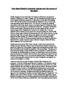 Othello Essays On Othellos Character by Othello Essays On Othellos Character Essay On Othellos