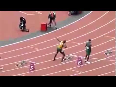 how to race the 200 meters youtube usain bolt wins 100 meter 200 meter race olympic games