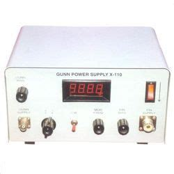 gunn diode power supply microwave instruments and radio frequency equipment microwave test bench microwave power
