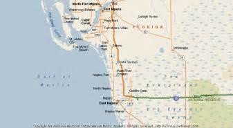 where is bonita springs florida on a map map of bonita springs