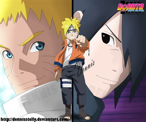 download film boruto uzumaki the movie boruto naruto the movie cover by dennisstelly on
