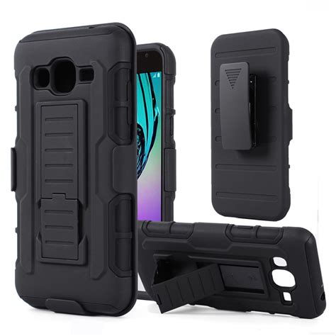 Samsung Galaxy S4 Rugged Armor Cover Casing Stand Bumper Kesing cover for samsung galaxy j3 rugged armor belt clip
