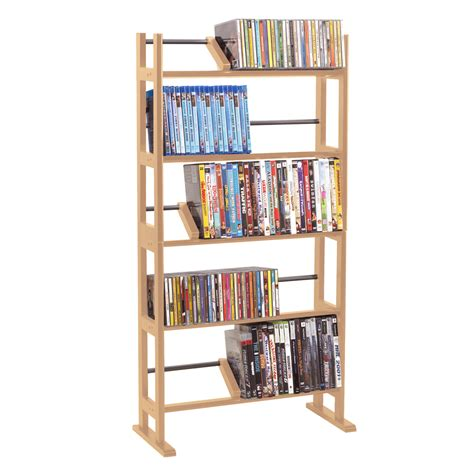 cd rack best buy element media rack in maple