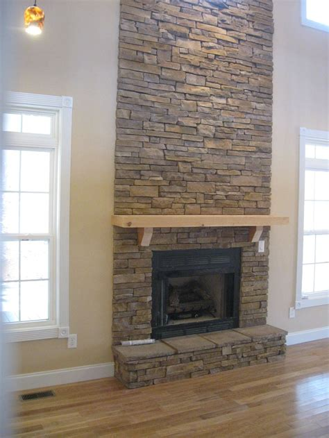 stacked stone fireplace pictures stack stone fireplace stone projects pinterest
