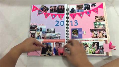 tutorial scrapbook for boyfriend memories scrapbook for boyfriend youtube