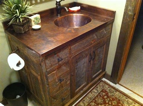 barn board bathroom vanity barn wood vanity diy barn wood crafts pinterest wood