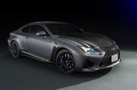 lexus rc f lexus rc f gs f matte grey special editions coming to