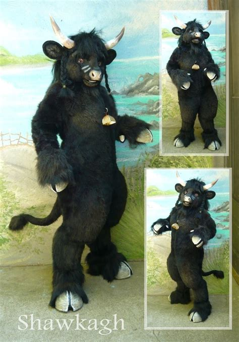 ox bull furry furry costumes fursuit pinterest cow