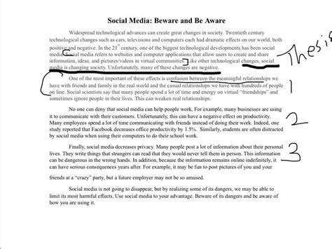 Social Media Opinion Essay by Social Media Exle Essay