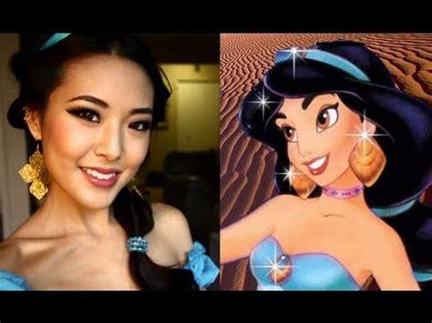 jasmine makeup tutorial disney princess jasmine halloween tutorial youtube