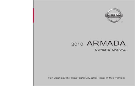 old car owners manuals 2010 nissan 370z user handbook 2010 armada owner s manual